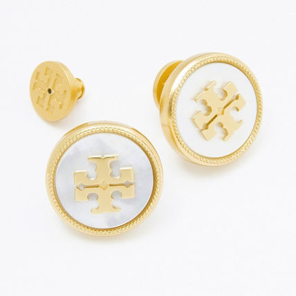 Tory Burch イヤリング・ピアス トリーバーチ ピアス 33456 136 色MOTHER OF PEARL VINTAGE GOLD(2)