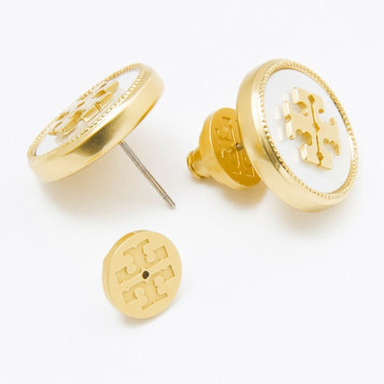 Tory Burch イヤリング・ピアス トリーバーチ ピアス 33456 136 色MOTHER OF PEARL VINTAGE GOLD(3)