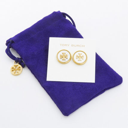 Tory Burch イヤリング・ピアス トリーバーチ ピアス 33456 136 色MOTHER OF PEARL VINTAGE GOLD(4)