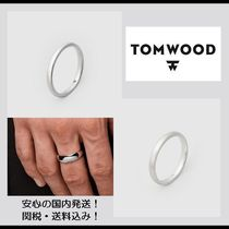 【関税&送料込】**Tom Wood**Classic Band Slim・リング/silver