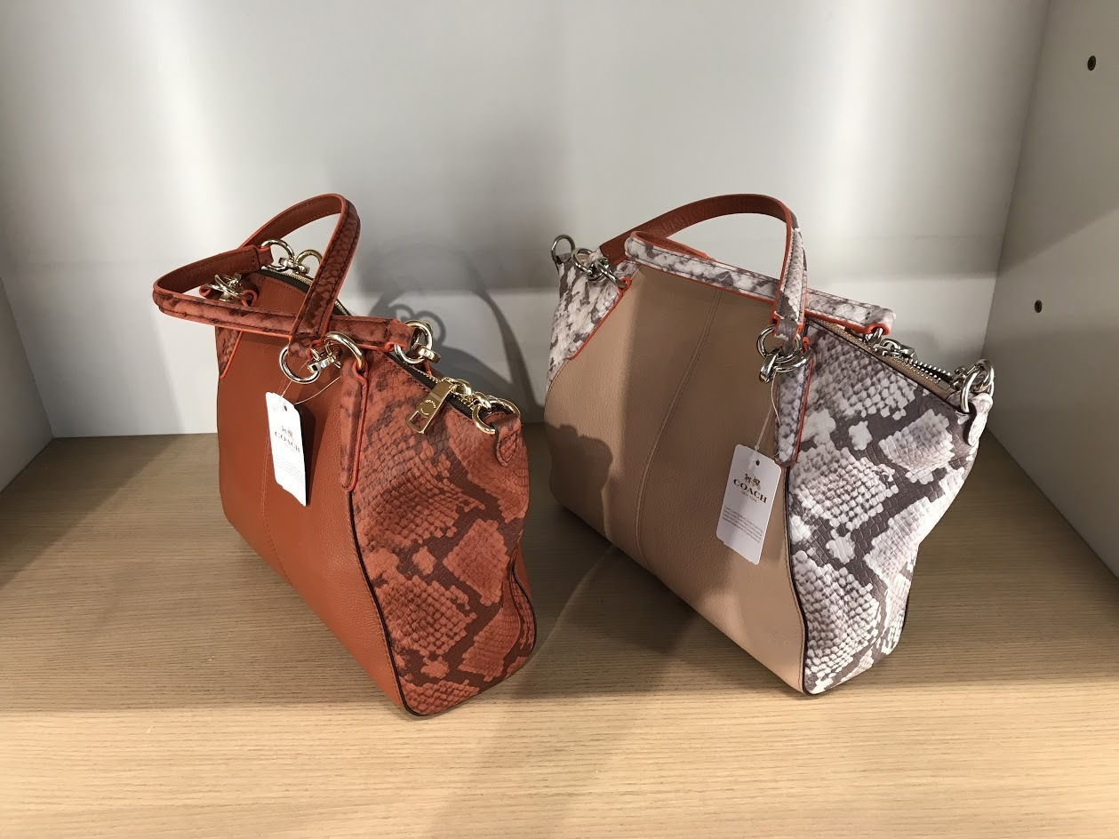 COACH★7月新作★KELSEY 長財布収納OK 2wayバッグ*美しい型押し