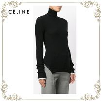 【17AW!新作!】★CELINE★ribbed high neck sweater