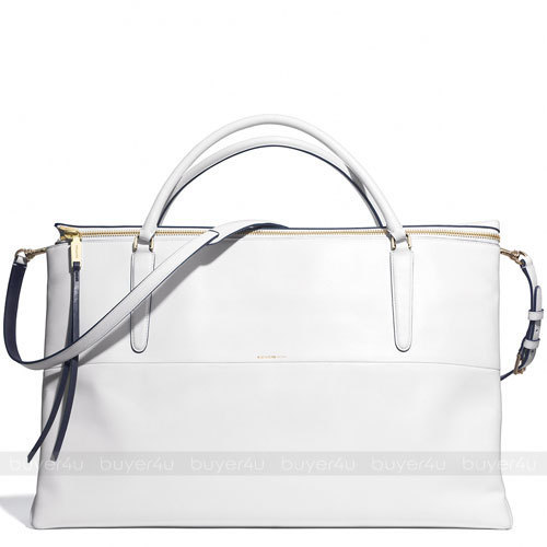 COACH★WEEKEND BOROUGH BAG IN EDGEPAINT LEATHER LARGE 30983