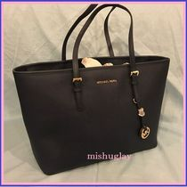 【MICHAEL KORS】特別入荷★A4可♪Multifunction Tote★navy