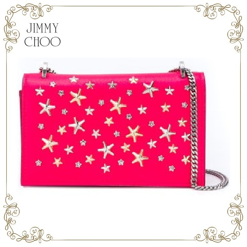 【17AW!新作!】★JIMMY CHOO★Floria クラッチバッグ