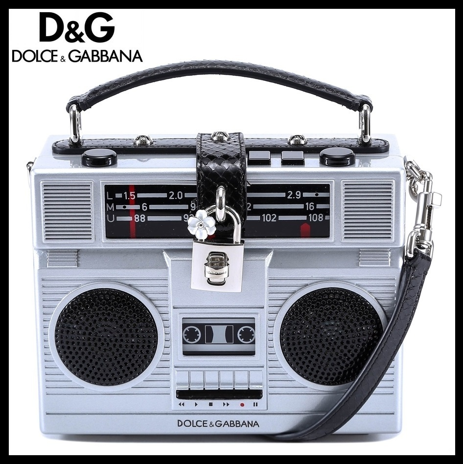 セール!関税送料無料★Dolce & Gabbana★BOX RADIO BAG