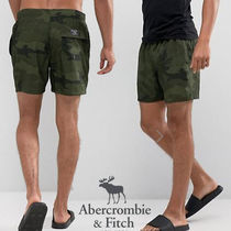 Abercrombie & Fitch カモフラプリント*スイムショーツ☆送関込