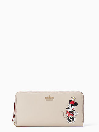 Kate Spade KATE SPADE NEW YORK FOR MINNIE MOUSE LACEY 長財布