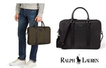 シンプルかっこいいTHOMPSON BRIEFCASE☆Ralph Lauren