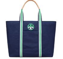 Tory Burch EMBROIDERED-T LARGE TOTE