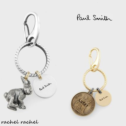 Paul Smith 国内発送 新作 Rabbit & Coin キーリング