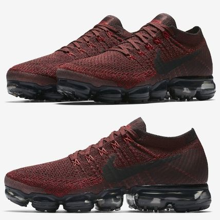 Nike スニーカー 大人気のエアヴェイパー★NIKE AIR VAPORMAX FLYKNIT★レッド(2)