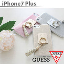 iPhone7 iPhone7Plus ケース Guess ゲス バンカーリング