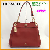 【即発送】 COACH (コーチ) TURNLOCK EDIE SHOULDER BAG