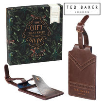 TED BAKER(テッドベイカー ) ラゲッジタグ TED BAKER ラゲッジタグ2点セット! 使い方色々! ギフトにも◎