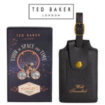 TED BAKER(テッドベイカー ) ラゲッジタグ TED BAKER ラゲッジタグ ゴールドの刻印が素敵♪ ギフトにも◎