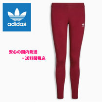 adidas(アディダス) スパッツ・レギンス adidas Originals Burgundy 3 Stripe Legging♪