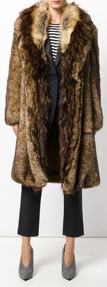 【17AW!新作!】★Dries Van Noten★oversized faux fur