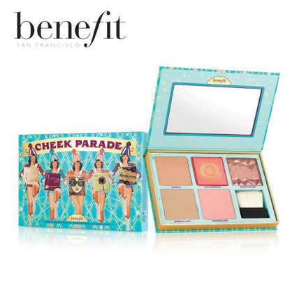 benefit■5種類のカラー♪チークパレードキット