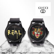 「 GUCCI 」G-Timeless 38mm watch 時計 キャット・REAL