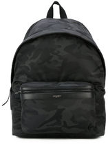 【関税負担】 SAINT LAURENT CAMOUFLAGE BACKPACK