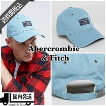 Abercrombie & Fitch/パッチロゴ キャップ 帽子 ライトブルー