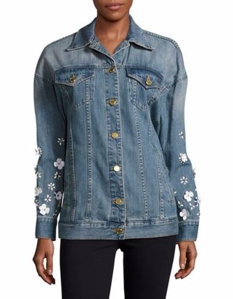 Michael Kors ジャケット MICHAEL MICHAEL KORS Embellished Denim ジャケット セール