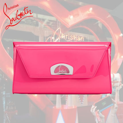 Christian Louboutin クラッチバッグ 大人気 新作◆Christian Louboutin◆Vero-Dodat クラッチ ピンク