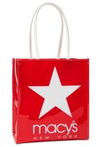 Macy's(メーシーズ) トートバッグ Macy's☆Macy'sの赤いバッグ!Worlds Largest Storeトートバッグ