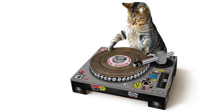 Cat Scratch Turntable【関税送料込】猫ちゃんの爪とぎ
