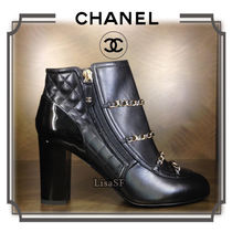 2017/18AW ☆CHANEL☆大人エレガント♪チェーンショートブーツ
