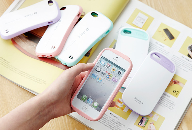☆iFace☆ iFace Pastel(Revolution)iPhone5/5S ケース