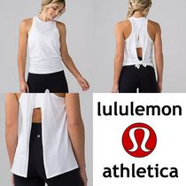 可愛い☆lululemon☆All Tied Up Tank タンクトップ  white