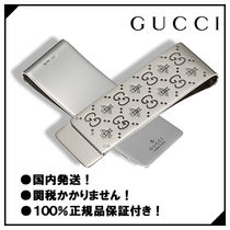 GUCCI(グッチ) 雑貨・その他 ■国内発送!グッチ【GUCCI】マネークリップ ウィズ ピーズ slv