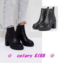 ASOS EAST Chunky Chelsea Boots♪