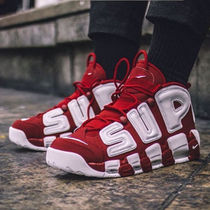 "SS17 SUPREME×NIKE AIR MORE UPTEMPO""VARSITY RED"""