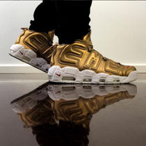 "SS17 SUPREME×NIKE AIR MORE UPTEMPO""METALLIC GOLD"""