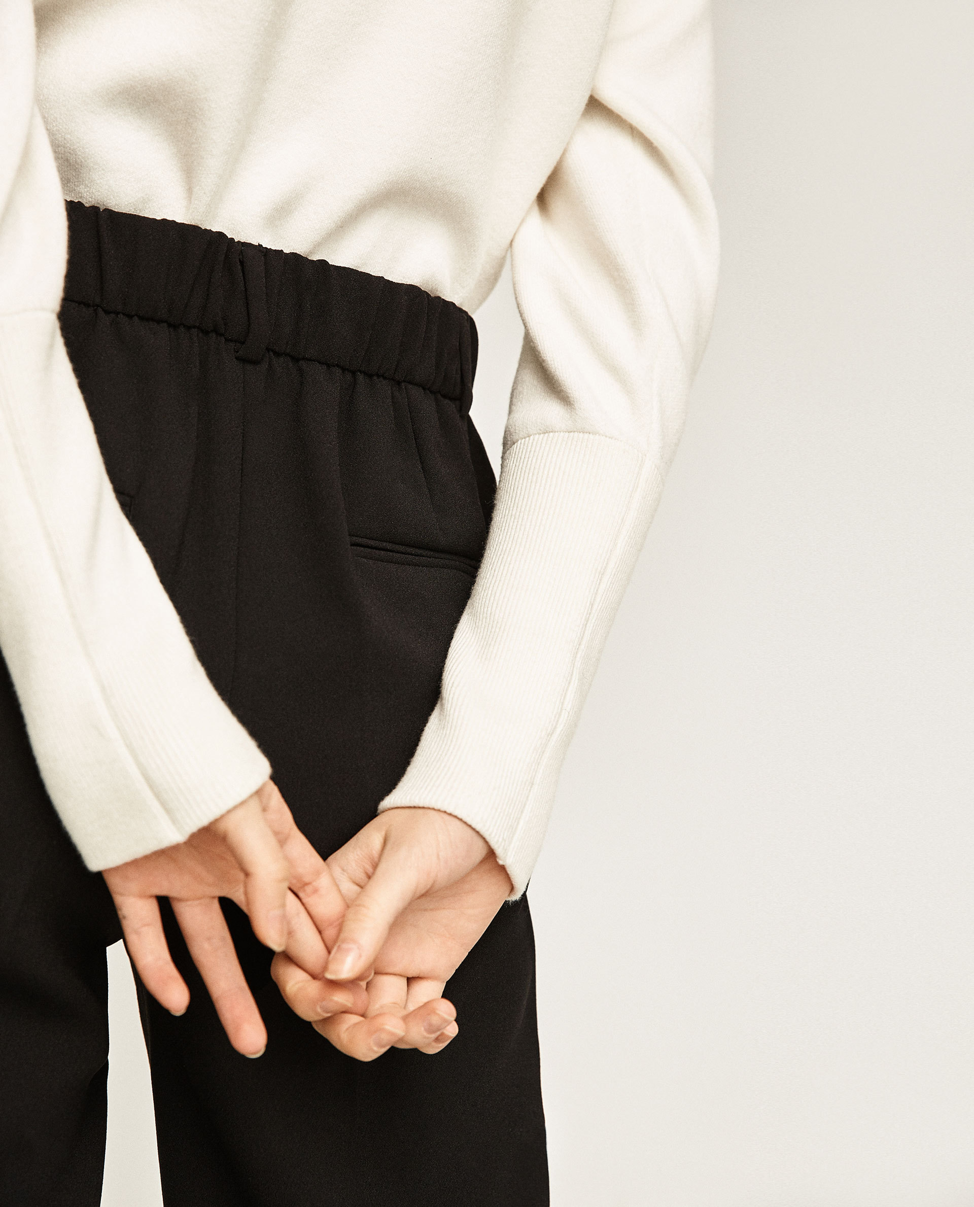 ●ZARA●秋新作♪ANKLE CROPPED TROUSERS