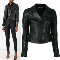 17-18AW TF013 CLASSIC FITTED LEATHER BIKER JACKET