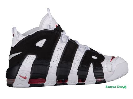 Nike Air More Uptempo White/Black モアアップテンポ