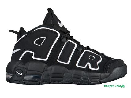 NIKE AIR MORE UPTEMPO Black/White/Black モアアップテンポ