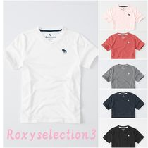 【Abercrombie Kids】  icon v-neck tee 便利なVネックTシャツ