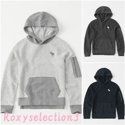 Abercrombie & Fitch トップス 【Abercrombie Kids】icon french terry hoodie パーカー