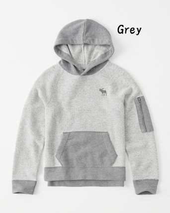 Abercrombie & Fitch トップス 【Abercrombie Kids】icon french terry hoodie パーカー(2)