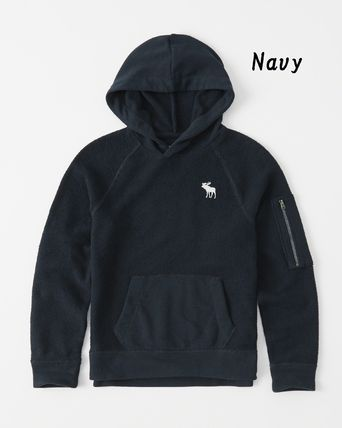 Abercrombie & Fitch トップス 【Abercrombie Kids】icon french terry hoodie パーカー(4)
