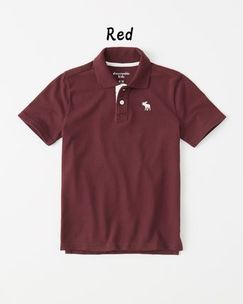 Abercrombie & Fitch トップス 【Abercrombie Kids】icon stretch polo 定番ポロシャツ☆(5)