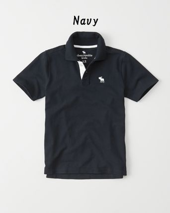 Abercrombie & Fitch トップス 【Abercrombie Kids】icon stretch polo 定番ポロシャツ☆(6)