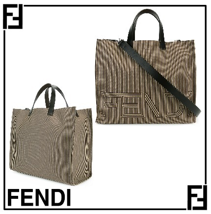 2017SS◆FENDI(フェンディ)◆Shpng 1000's ratllesトートバッグ
