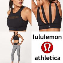 lululemon☆Run The Day Bra メッシュスポーツブラ black