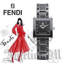 ★関税・送料込み★ Fendi Ceramic Square Case Watch F621210